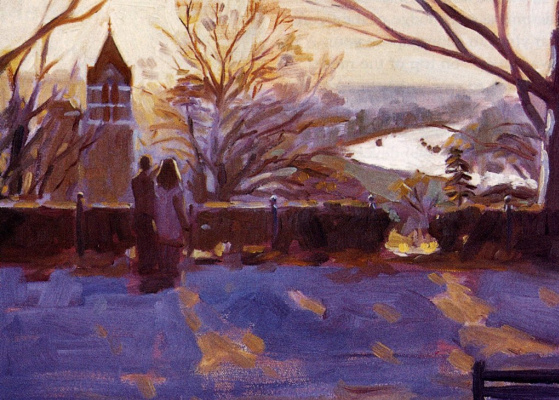 Зимний день на Ричмонд-Хилл