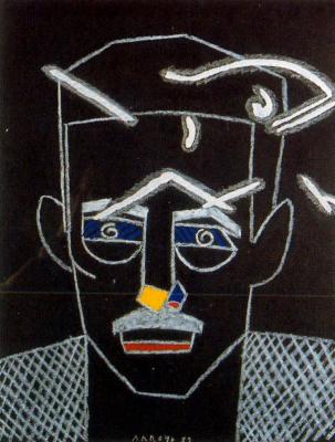 Эдуардо Арройо. Голова мужчины