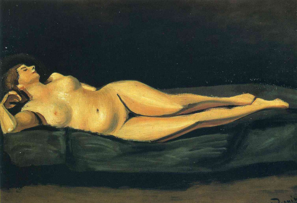 Andre Derain. Nude woman