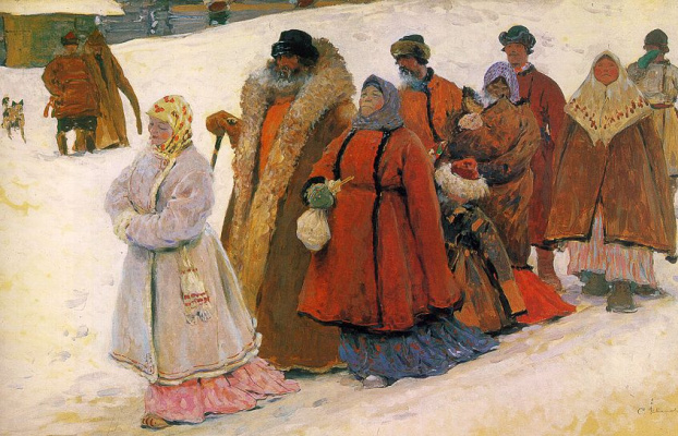 П. С. Иванов. Морозный день
