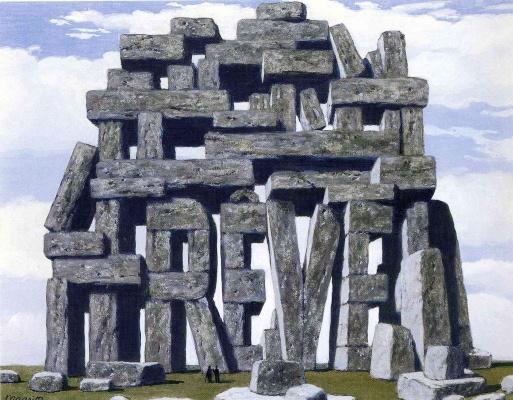 René Magritte. The art of conversation