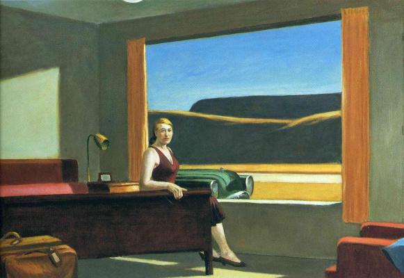 Edward Hopper. Western Motel