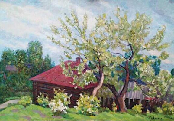 "Sergei Petrovich Gorbatko. ""Old Apple tree"""