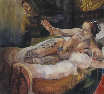Lubov Harlanova. Danae 2.0