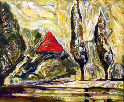 Олег Александрович Мелехов. Озеро Хлебное / Zwihng See, Koenigsberg, №433
