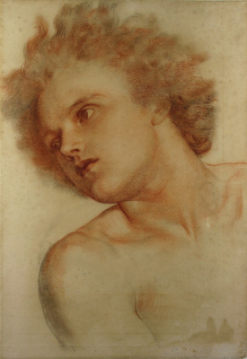 """George Frederick Watts. The figure for boys wall mural """"Earth"""""""