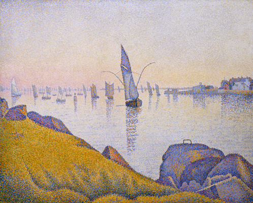 Paul Signac. The evening peace. Concarneau. Opus 220 (Allegro Maestoso)