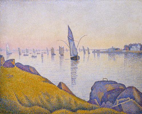 Paul Signac. The evening peace. Concarneau. Opus 220 (Allegro Maestoso)