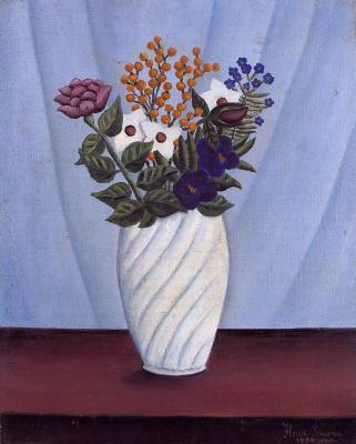 Henri Rousseau. Bouquet of Flowers