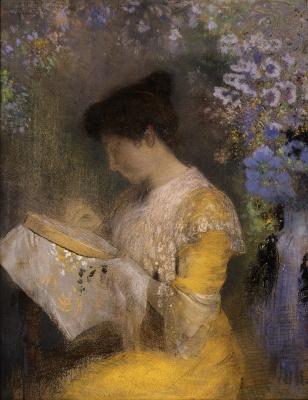 Odilon Redon. Madame Arthur Fontaine
