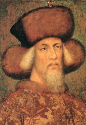 Антонио Пизанелло. Портрет императора Сигизмунда Люксембурга