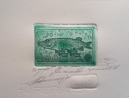Igor Alexandrovich Chernyshov. Fish plane