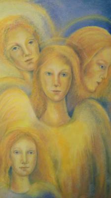 Olesya Soboleva Nikolaevna Soboleva. Angels