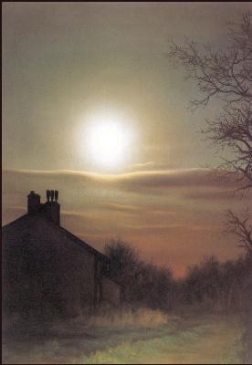Анна Садворс. Лунный свет и дом