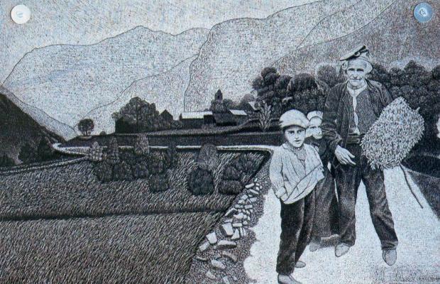 Хигинио Маллебрера. Прогулка с дедушкой