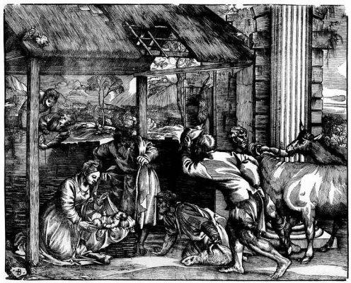 Titian Vecelli. The adoration of the shepherds