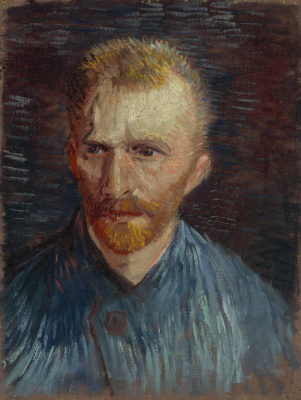 Vincent van Gogh. Self portrait 1887