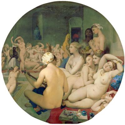 Jean Auguste Dominique Ingres. Turkish baths