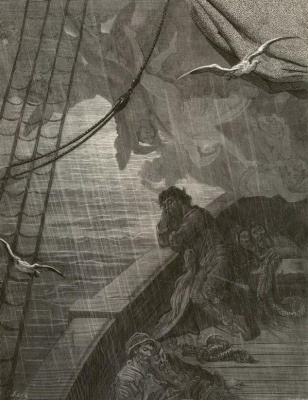 Paul Gustave Dore. A poem about an old sailor
