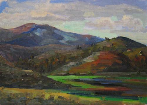 Svetlana Holodnyak. Northern hills