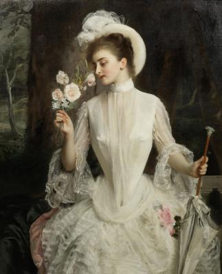 Gustave Jean Jacquet. Elegant bouquet