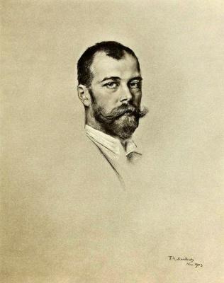 Фридрих Август фон Каульбах. Император Николай II