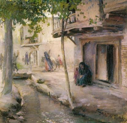 Pavel Petrovich Benkov. Old Tashkent. Past