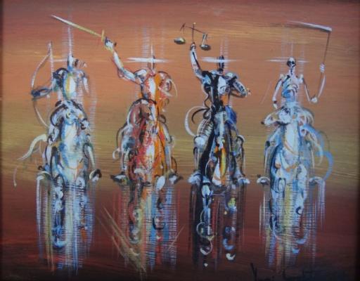 Yuri Iosifovich Galetsky. The Horsemen Of The Apocalypse