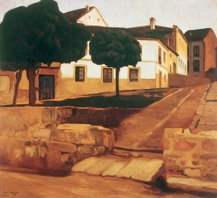 Диего Мария Ривера. Авила
