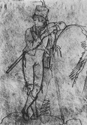 Леопольд Купельвизер. Автопортрет в виде путешественника