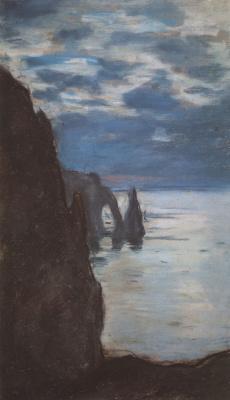 Claude Monet. Étretat, the Needle rock and Porte d Aval