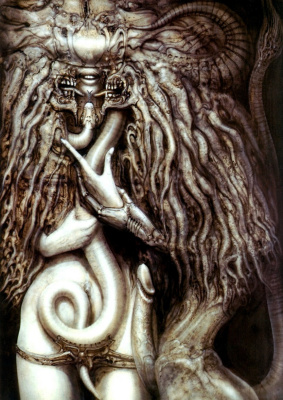 Hans Rudolph Giger. The Master and Margarita