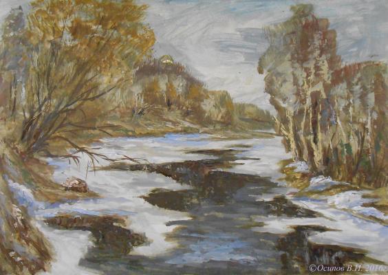 Владимир Иванович Осипов. With the flow