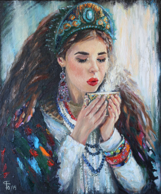 Julia Valerievna Fedotova. Have a nice tea party