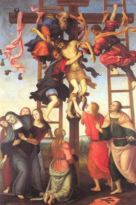 Пьетро Ваннуччи. Снятие Христа