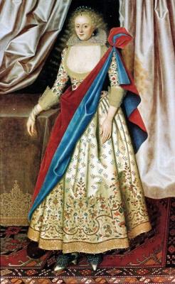 William Larkin. Portrait Of Lady Isabella Rich