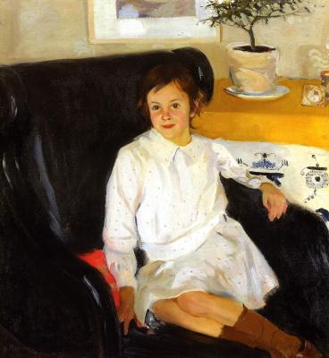 Alexander Murashko. Portrait Of N. M. Nesterova