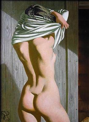 Алексей Николаевич Базанов. Купальщица в бане