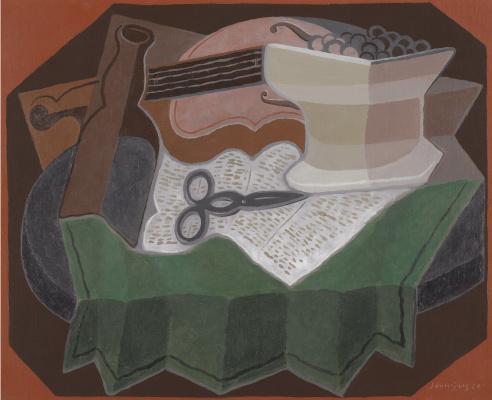 Juan Gris. Scissors
