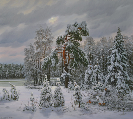 Alexander Vasilyevich Zoryukov. Winter, winter - fluffy vision