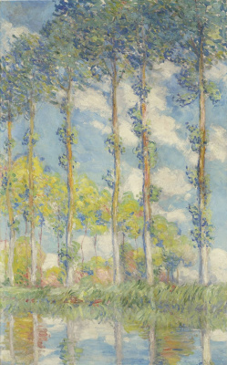 Claude Monet. Poplar
