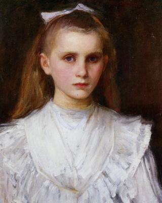 Джон Уильям Уотерхаус. Девочка в белом платье