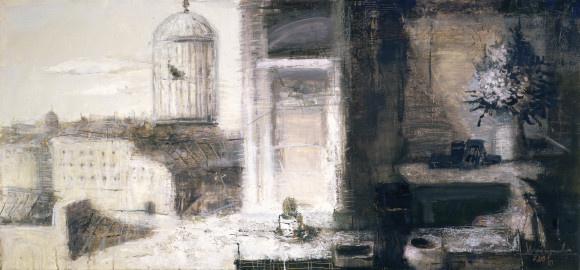 Дмитрий Евгеньевич Иконников. Вид из окна