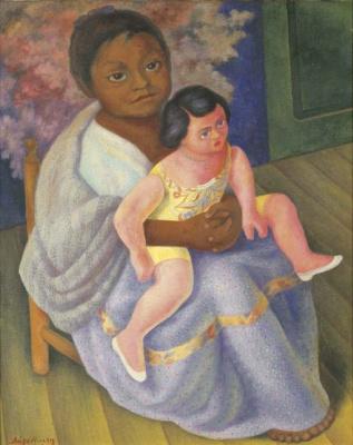 Диего Мария Ривера. Нина с куклой