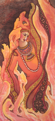 Violetta Valerievna Mitina. Goddess of fire