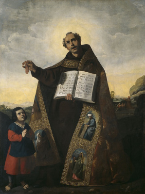 Francisco de Zurbaran. The Holy Roman and Barul Antioch