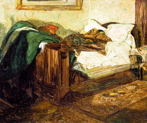 Isaac Brodsky. Bed
