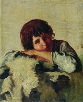 Ivan Ivanovich Shishkin. Italian boy