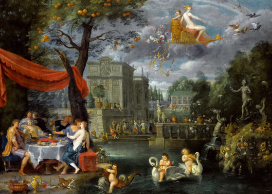Jan Brueghel the Younger. Allegory of the World