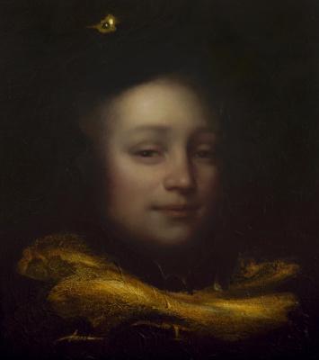 Ольга Акаси. Portrait of Blaise Pascal, philosopher and mathematician